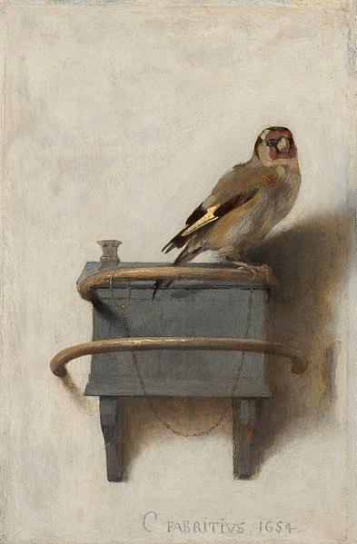 El jilguero - Carel Fabritius