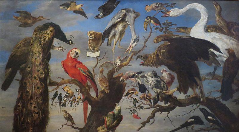 Concierto de pájaros - Frans Snyders