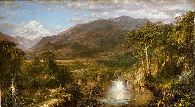 El corazón de los Andes - Frederic Edwin Church