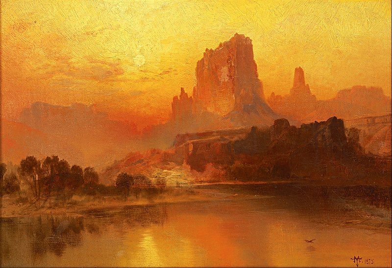 La hora dorada - Thomas Moran