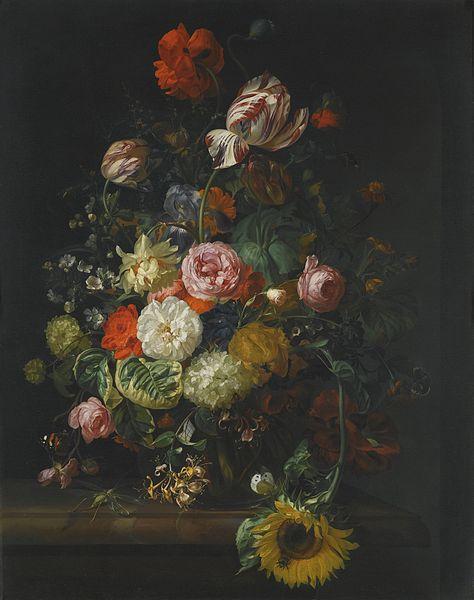 Bodegón de flores - Rachel Ruysch