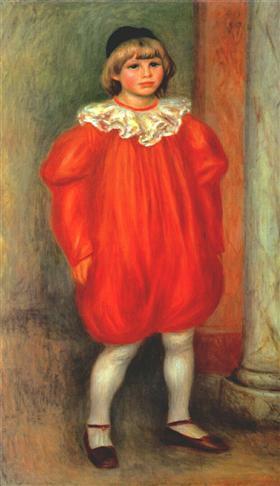 Pierre-Auguste Renoir-pintura-en-rojo