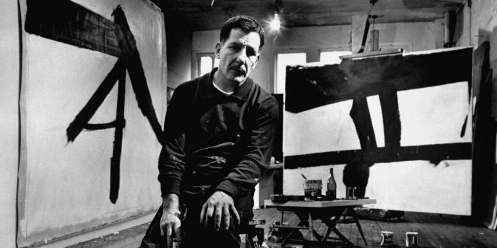 Franz-Kline-Artista-abstracto
